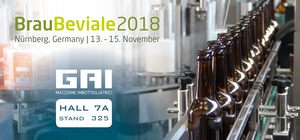 Invitation to the international exhibition of the beverage industry BrauBeviale 2018