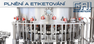 The filling and labeling technology GAI in winery Vino Hruska