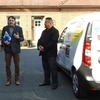 Ceremonial handover of a social vehicle to the Children's Center in Zlín